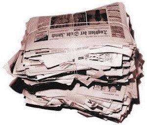 papel jornal - tipos de papel para impressão