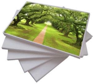 tipos de papel para impressão offset